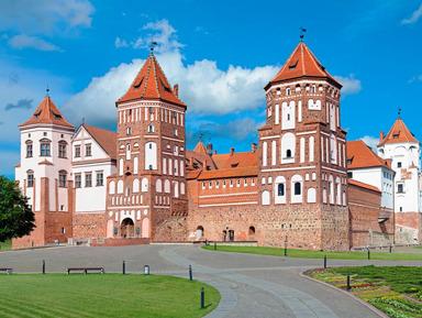 Путешествие в белорусские замки Мир и Несвиж