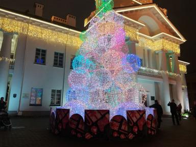 Новогодний экспресс: Праздничное путешествие по Минску