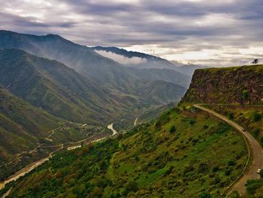 По горным перевалам в монастырь Ахпат