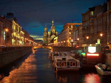 Ночной круиз «Весь Петербург» (каналы и развод мостов) (вс - чт)