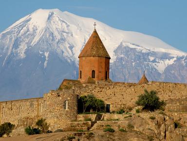 Монастырь–крепость Хор Вирап, водопад Шаки и Татев