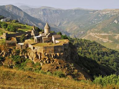 Окрыляющее путешествие в Татевский монастырь