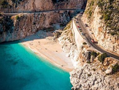 Лучшие пляжи Турции — Патара Каш Капуташ Калкан