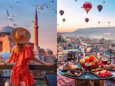 Стамбул-Каппадокия (двухдневный тур с перелетом из Анталии)