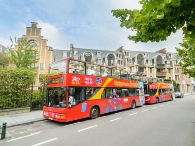 Брюссель: билет на автобусный Hop-On Hop-Off тур (на 1 и 2 дня)