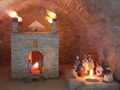 По следам А.Дюма и Д.Менделеева: Храм огнепоклонников и Горящая гора