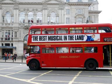 Обзорная автобусная экскурсия по Лондону