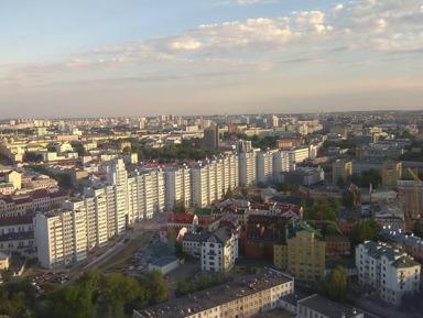 Минск - из глубин средневековья к современному мегаполису.