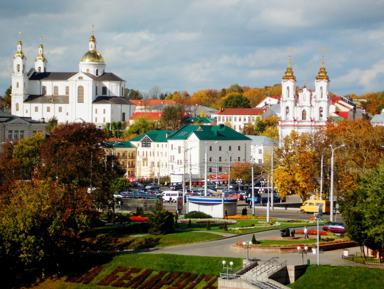 Витебск: неожиданный ракурс.