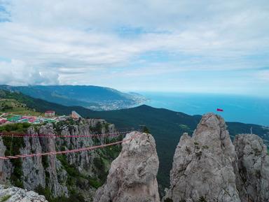 Ай Петри — восхождение на 1234 метра!