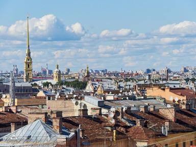 Петербург: вид сверху. Экскурсия по крышам