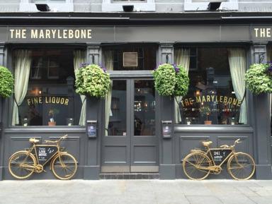 Прогулка по Marylebone Village