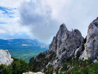 Красоты плато Ай-Петри