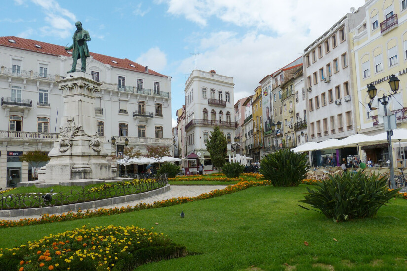 Коимбра - город-университет и первая столица Португалии